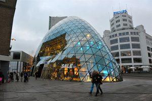 Bulb, Eindhoven, ontworpen door Fuksas
