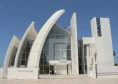 Church of God Merciful Father, Rome, ontworpen door Richard Meier