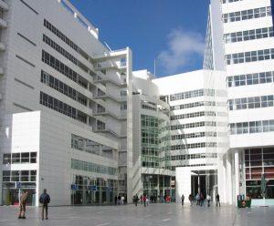 Stadhuis Den Haag, ontworpen door Richard Meier