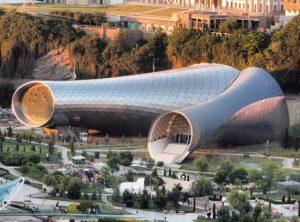 Muziektheater Tbilisi, ontworpen door Fuksas