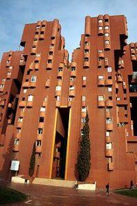 Walden 7, appartementencomplex ontworpen door Ricardo Bofill