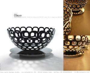 schaal, ontworpen door Luca Casini