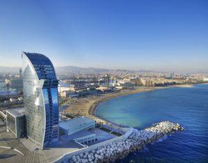 Hotel W Barcelona, ontworpen door Ricardo Bofill