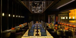 Restaurant Yuan, Hotel Atlantis, The Palm Dubai ontworpen door Steve Leung