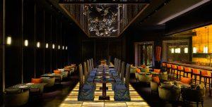 Restaurant Yuan, Hotel Atlantis, The Palm Dubai ontworpen door Steve Leung