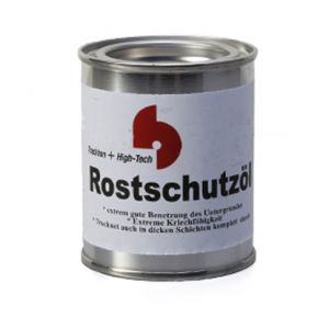Onderhoudsolie Schwarzstahl