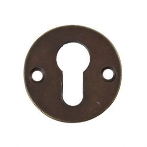 PC-rozet-rond-antiek-brons